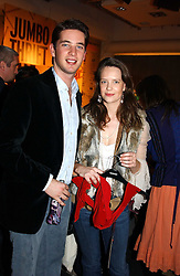 The HON.JAMES TOLLEMACHE and MISS ARABELLA MUSGRAVE at a Topshop hosted Jumbo Thrift Sale - a sale of designer fashion, in association with the Terence Higgins Trust for World Aids Day, held at Topshop, Oxford Circus, London on 1st December 2004.<br />
