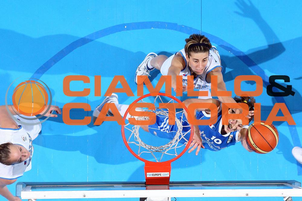 DESCRIZIONE : Riga Latvia Lettonia Eurobasket Women 2009 Semifinal 5th-6th Place Italia Grecia Italy Greece<br /> GIOCATORE : Pelagia Papamichail<br /> SQUADRA : Grecia Greece<br /> EVENTO : Eurobasket Women 2009 Campionati Europei Donne 2009 <br /> GARA : Italia Grecia Italy Greece<br /> DATA : 20/06/2009 <br /> CATEGORIA : tiro super special<br /> SPORT : Pallacanestro <br /> AUTORE : Agenzia Ciamillo-Castoria/E.Castoria<br /> Galleria : Eurobasket Women 2009 <br /> Fotonotizia : Riga Latvia Lettonia Eurobasket Women 2009 Semifinal 5th-6th Place Italia Grecia Italy Greece<br /> Predefinita :
