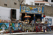 Traditional basket and pottery shop in Dakar the capital of Senegal...Picture by Zute Lightfoot .+44(0)75145390425