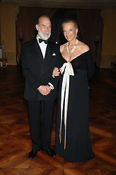 TRH PRINCE & PRINCESS MICHAEL OF KENT at a dinner hosted by the Italian Ambassador for the Buccellati family held at the Italian Embassy, Grosvenor Square, London on 28th March 2007.<br /><br />NON EXCLUSIVE - WORLD RIGHTS