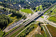 Nederland, Gelderland, Gemeente Arnhem, 30-09-2015; NS Station Anrhem-Zuid.<br /> luchtfoto (toeslag op standard tarieven);<br /> aerial photo (additional fee required);<br /> copyright foto/photo Siebe Swart