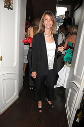 SABRINA GUINNESS at a party hosted by the Supper Club in honour of Mary Greenwell held at Beach Blanket Babylon, Ledbury Road, London on 25th June 2008.<br /><br />NON EXCLUSIVE - WORLD RIGHTS