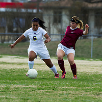 4-1-14 BHS Soccer  Girls vs. Siloam Springs