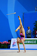 Ana Luiza Filiorianu was born in July 10, 1999 in Bucharest. She is a very good Romanian individual rhythmic gymnast.
