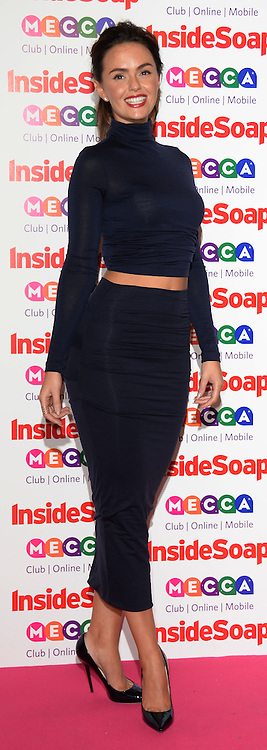 Inside Soap Awards.<br /> Jennifer Metcalfe arrives for the Inside Soap Awards, Ministry of Sound, London, United Kingdom,<br /> Monday, 21st October 2013. Picture by Andrew Parsons / i-Images
