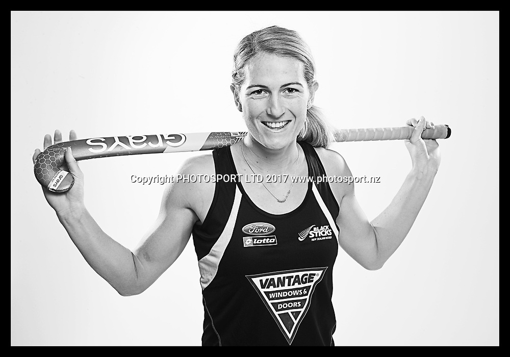 Stacey Michelsen, New Zealand Black Sticks women, national hockey team photoshoot. Photosport Studio, Auckland. August 2017, Copyright Image: Andrew Cornaga / www.photosport.nz