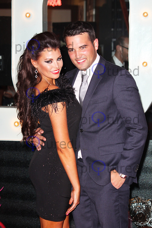 Jessica Wright & Ricky Rayment, Jessica Wright - Pop-Up Store Launch, Westfield Stratford City, London UK, 15 August 2013, (Photo by Brett D. Cove)
