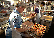 Midtown Historic Farmers' Market, Pretzel Makers, Amish and Mennonites, Harrisburg, PA,