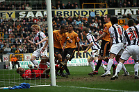 Photo: Rich Eaton.<br /> <br /> Wolverhampton Wanderers v West Bromwich Albion. The FA Cup. 28/01/2007. West Broms Zoltan Gera #11 in the centre celebrates scoring in the second half to make the score 3-0