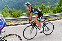 Richie Porte - Team Sky - 24.05.2015 - Tour d'Italie - Etape 15 - Marostica / Madonna di Campiglio<br />