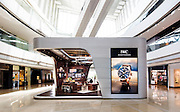 IWC Schaffhausen Pilot's Heritage Watch Collection booth at the IFC Mall on 27 May 2016 in Hong Kong, China. Photo Victor Fraile / illume visuals
