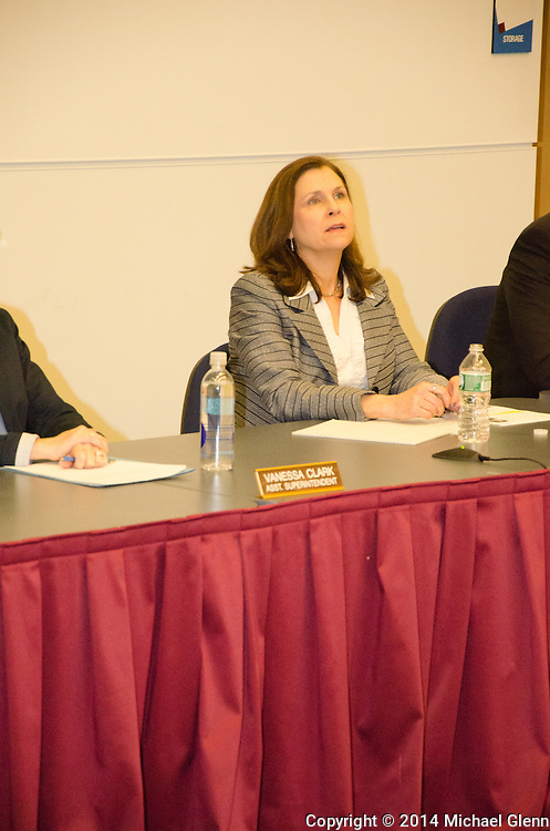 20140224 Lacey Township School Board, New Jersey, USA// Dr Brower reinstated at meeting of Lacey School Board Glenn Images