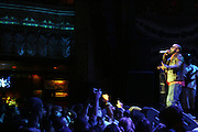 Black Thought(The Roots)  at The Common and Friends Benefit concert for The Common Ground Foundation held at  The House of Blues in Chicago on September 26, 2008..The Common Ground Foundation was created by Hip Hop artist, actor and children?s author Lonnie Rashid Lynn, known as ?Common?. Common?s social-conscience message serves as inspiration for equality, opportunity and hope among youth in underserved communities. The Foundation is committed to empowering youth in urban neighborhoods and providing life skills needed to achieve their dreams..