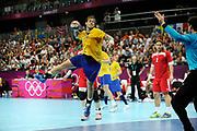 DESCRIZIONE : Handball Jeux Olympiques Londres Quart de Finale<br /> GIOCATORE : NILSSON Andreas<br /> SQUADRA : Danemark Homme<br /> EVENTO : Handball Jeux Olympiques<br /> GARA : Danemark Suede<br /> DATA : 08 08 2012<br /> CATEGORIA : handball Jeux Olympiques<br /> SPORT : HANDBALL<br /> AUTORE : JF Molliere <br /> Galleria : France JEUX OLYMPIQUES 2012 Action<br /> Fotonotizia : France Handball Homme Jeux Olympiques Londres Quart de Finale Basketball Arena<br /> Predefinita :