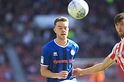 Matty Gillam during the EFL Sky Bet League 1 match between Sunderland and Rochdale at the Stadium Of Light, Sunderland, England on 22 September 2018.