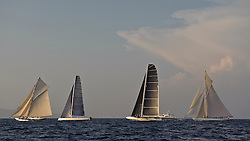 Hydropetere and Tuiga sailing in Sailing in Saint-Tropez