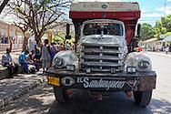 Truck in San Antonio del Sur, Guantanamo, Cuba.