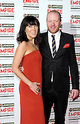 24.MARCH.2013. LONDON<br /> <br /> STEVE ORAM AND ALICE LOWE ATTEND THE 18TH JAMESON EMPIRE FILM AWARDS 2013 AT GROSVENOR HOUSE IN LONDON<br /> <br /> BYLINE: EDBIMAGEARCHIVE.CO.UK<br /> <br /> *THIS IMAGE IS STRICTLY FOR UK NEWSPAPERS AND MAGAZINES ONLY*<br /> *FOR WORLD WIDE SALES AND WEB USE PLEASE CONTACT EDBIMAGEARCHIVE - 0208 954 5968*