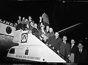 Irish Golfers leave for Canada Cup..22.10.1963