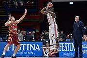 DESCRIZIONE : Beko Final Eight Coppa Italia 2016 Serie A Final8 Quarti di Finale Olimpia EA7 Emporio Armani Milano - Umana Reyer Venezia<br /> GIOCATORE : Rakim Sanders<br /> CATEGORIA : Tiro Tre Punti Three Point Controcampo<br /> SQUADRA : Olimpia EA7 Emporio Armani Milano<br /> EVENTO : Beko Final Eight Coppa Italia 2016<br /> GARA : Quarti di Finale Olimpia EA7 Emporio Armani Milano - Umana Reyer Venezia<br /> DATA : 19/02/2016<br /> SPORT : Pallacanestro <br /> AUTORE : Agenzia Ciamillo-Castoria/L.Canu