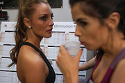 Miss Norway and Miss Trinidad and Tobago<br />