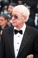 Actor Michael Caine<br /> at the gala screening for the film Youth at the 68th Cannes Film Festival, Wednesday May 20th 2015, Cannes, France.