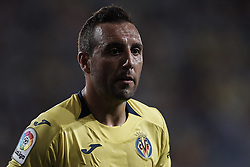 August 31, 2018 - Vila-Real, Castellon, Spain - Santi Cazorla of Villarreal CF looks on during the La Liga match between Villarreal CF and Girona FC at Estadio de la Ceramica on August 31, 2018 in Vila-real, Spain  (Credit Image: © David Aliaga/NurPhoto/ZUMA Press)