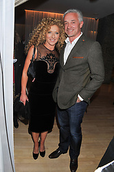 KELLY HOPPEN and JOHN GARDNER at the 2012 Rodial Beautiful Awards held at The Sanderson Hotel, Berners Street, London on 6th March 2012.
