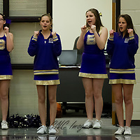 2-12-15 Berryville Jr High Cheerleaders - Gravette