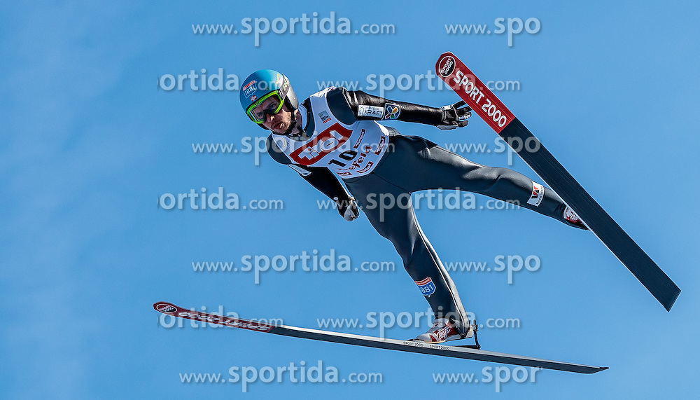28.01.2017, Casino Arena, Seefeld, AUT, FIS Weltcup Nordische Kombination, Seefeld Triple, Skisprung, im Bild Jan Schmid (NOR) // Jan Schmid of Norway in action during his Competition Jump of Skijumping of the FIS Nordic Combined World Cup Seefeld Triple at the Casino Arena in Seefeld, Austria on 2017/01/28. EXPA Pictures © 2017, PhotoCredit: EXPA/ JFK