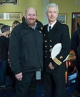 free pic no repro fee     GMC20012017 <br /> Paschal Horgan Horgans Shipping and Tim O'Keeffe Irish Coast Guard  Pictured at the Port of Cork, for the launch of Meitheal Mara&rsquo;s ambitious plans for the realisation  of an integrated maritime hub for Cork City. www.meithealmara.ie<br /> Images By Gerard McCarthy 087 8537228 <br /> For more info contact  Joya Kuin  0857770969  joyakuin@gmail.com