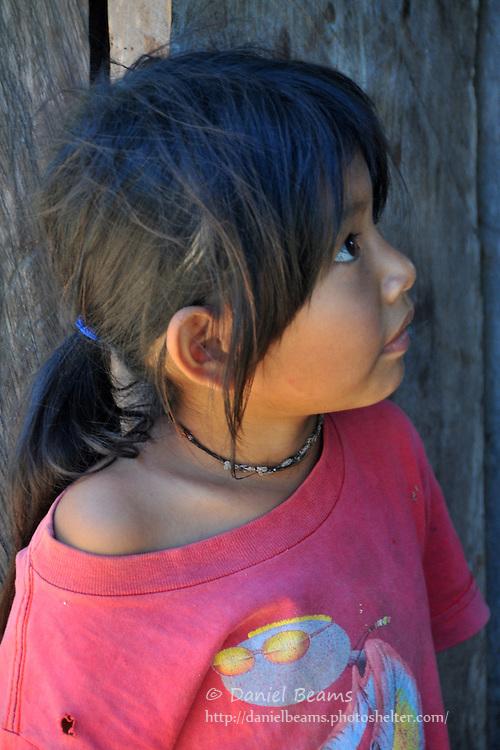Yuracare girl, Villa Hermosa, Beni, Bolivia