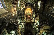 France. Marseille. INSIDE NOTRE DAME DE LA GARDE CHURCH  Marseille  France  / L EGLISE NOTRE DAME DE LA GARDE  Marseille  France  /     L0008323  /  R20711  /  P115736