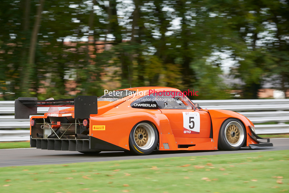 #5 Richard CHAMBERLAIN Porsche 935 during GT Cup - Qualifying as part of the MSVR Oulton Park 10th October 2015 at Oulton Park, Little Budworth, Cheshire, United Kingdom. October 10 2015. World Copyright Taylor/PSP. Copy of publication required for printed pictures.  Every used picture is fee-liable. http://archive.petertaylor-photographic.co.uk