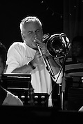 Trombonist Barry Green