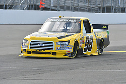 June 22, 2018 - Madison, Illinois, U.S. - MADISON, IL - JUNE 22:  Grant Enfinger (98) driving a Ford warms up before  the Camping World Truck Series - Eaton 200 on June 22, 2018, at Gateway Motorsports Park, Madison, IL.   (Photo by Keith Gillett/Icon Sportswire) (Credit Image: © Keith Gillett/Icon SMI via ZUMA Press)