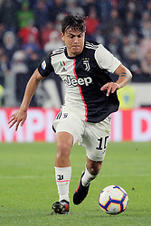 May 19, 2019 - Turin, Turin, Italy - Paulo Dybala #10 of Juventus FC in action during the serie A match between Juventus FC and Atalanta BC at Allianz Stadium on May 19, 2019 in Turin, Italy. (Credit Image: © Giuseppe Cottini/NurPhoto via ZUMA Press)