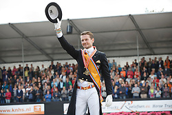 Gal Edward, (NED)<br /> Kingsley Donadeo Prijs grand Prix Kur<br /> Dutch Championship Dressage - Ermelo 2015<br /> © Hippo Foto - Dirk Caremans<br /> 19/07/15