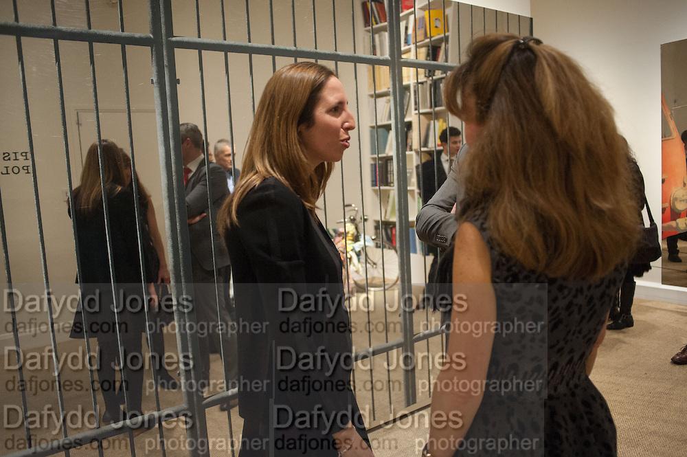 AMALIA DAYAN, Pistoletto Politico - private view  of the work of Italian artist Michelangelo Pistoletto,  Luxembourg & Dayan, 2 Savile Row, London, 2 Savile Row. 11 February 2013