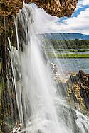 Fall Creek Falls, up close and personal.   The Snake flows below through beautiful Swan Valley Idaho