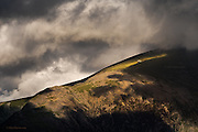 Shot whilst teaching my first 1-1 workshop in years. <br /> <br /> &ldquo;Out of the dark clouds that had been covering Snowdon&rsquo;s summit all day, a small steam locomotive gently descends from the gloom into patches of bright afternoon sunlight. The chugging sound of the engine carried across the valley and continued even when the engine disappeared from sight down it&rsquo;s 4 mile long track&rdquo;