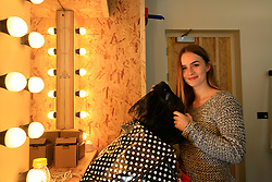 UK ENGLAND LONDON 4DEC12 - Elisa Kropp (27) of Alive4Fashion in the dressing room at the YouTube Creator Space offices in central London.....25 winners from YouTube's NextUp competetion were selected to receive an all-expenses paid trip to London where they are attending a week of training and mentorship.....jre/Photo by Jiri Rezac..