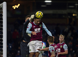 Dwight McNeil of Burnley heads the ball clear - Mandatory by-line: Jack Phillips/JMP - 30/11/2019 - FOOTBALL - Turf Moor - Burnley, England - Burnley v Crystal Palace - English Premier League
