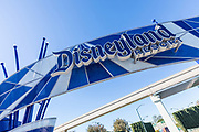 Disneyland Resort Signage