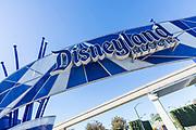 Disneyland Resort Signage