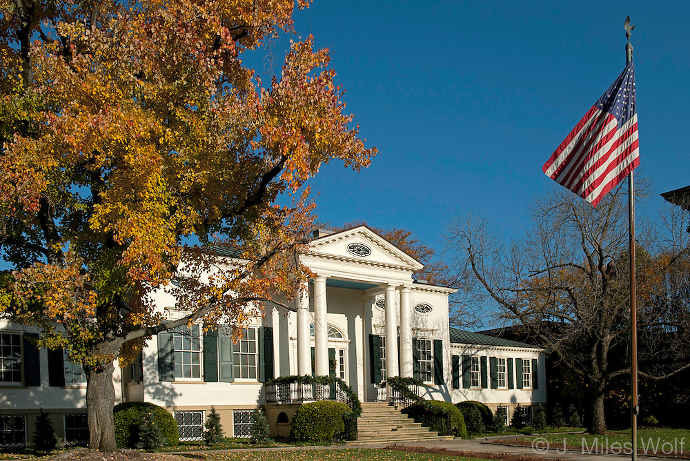 Taft Museum in Fall