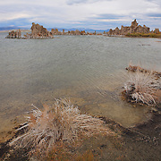 Mono Lake Shoreline - Incoming Storm