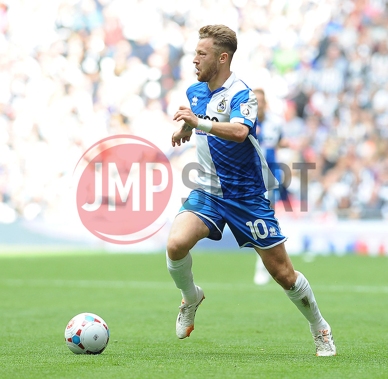 Bristol Rovers' Matty Taylor - Photo mandatory by-line: Neil Brookman/JMP - Mobile: 07966 386802 - 17/05/2015 - SPORT - football - London - Wembley Stadium - Bristol Rovers v Grimsby Town - Vanarama Conference Football