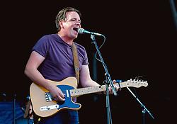 Joe Dunwell of The Dunwells performs at Sixways Stadium - Mandatory by-line: Matt McNulty/JMP - 14/07/2017 - Sixways Stadium - Worcester, England