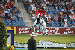 Devos Pieter, (BEL), Dylano<br /> Team completion and 2nd individual qualifier<br /> FEI European Championships - Aachen 2015<br /> © Hippo Foto - Dirk Caremans<br /> 20/08/15